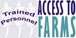 access to farm logo 76px